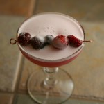 Cranberry Pisco Sour
