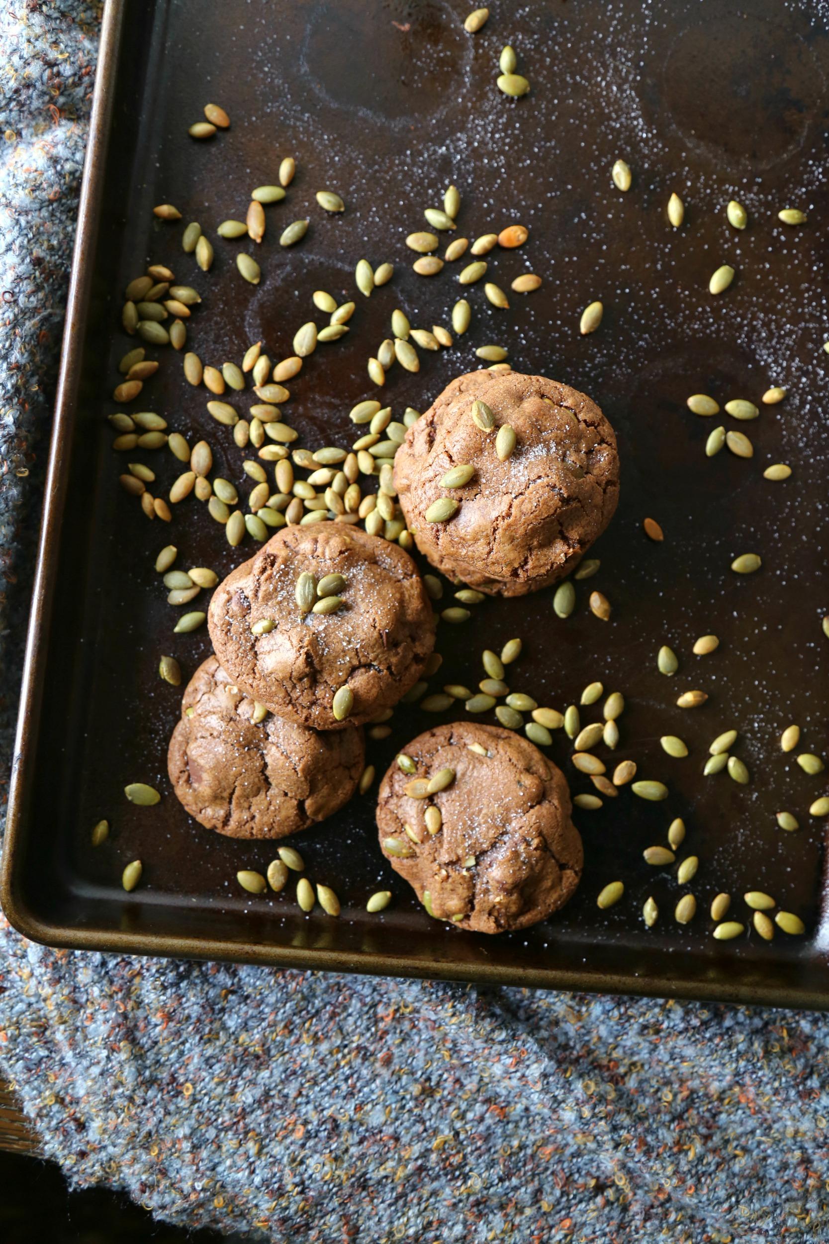 Chocolate-Chunk–Pumpkin-Seed-Cookies-bonappetit-vianneyrodriguez-sweetlifebake