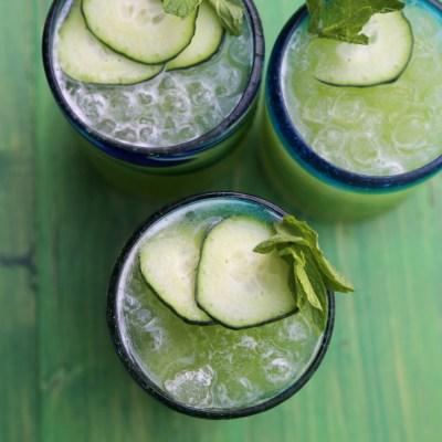 Cucumber Melon Agua Fresca