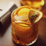 Honey Smash Bourbon Cocktail