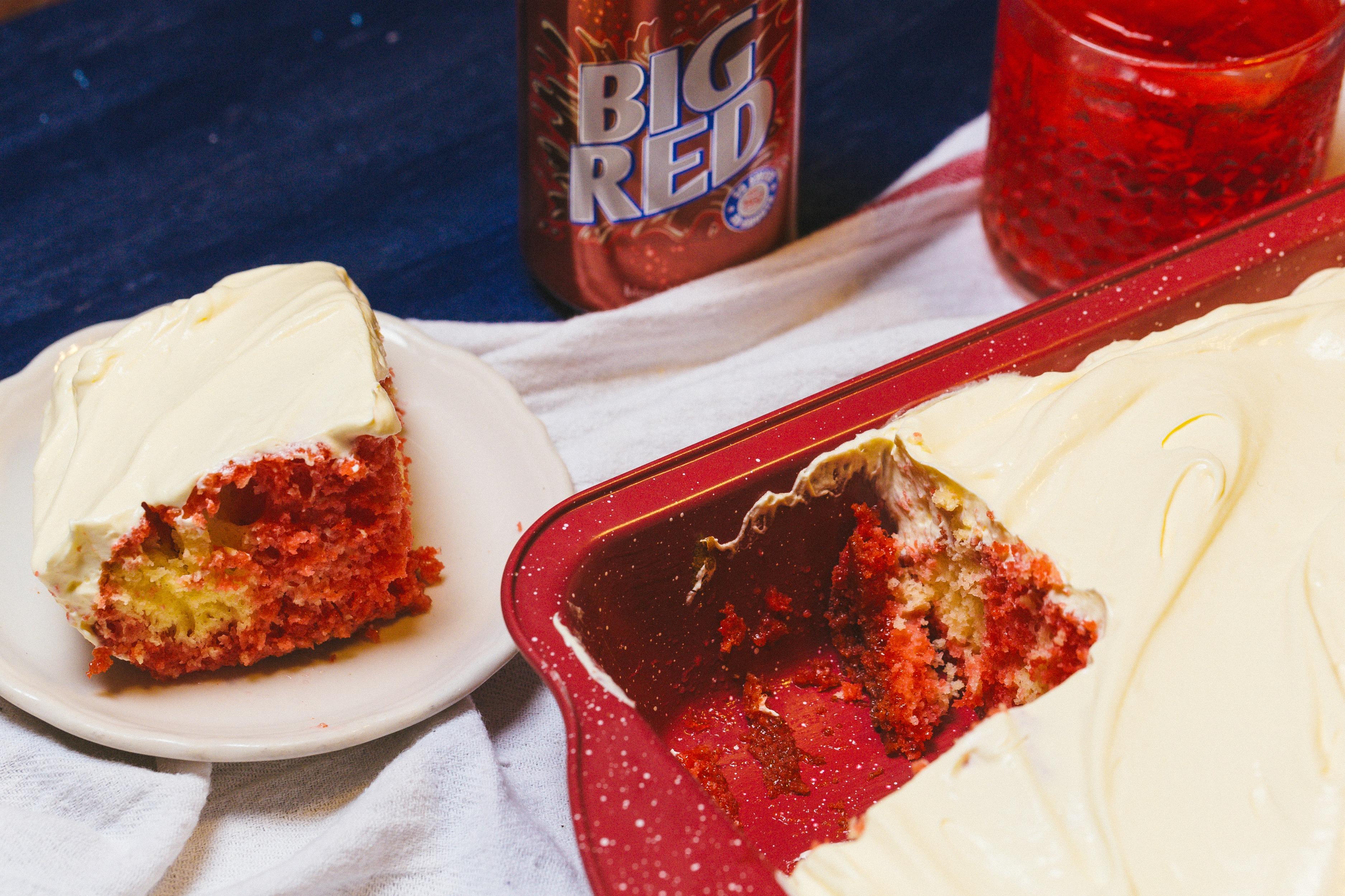 Big Red Cake Sweet Life