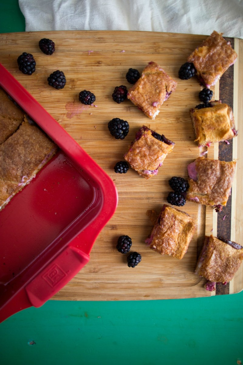 Blackberry Sopapilla Bars