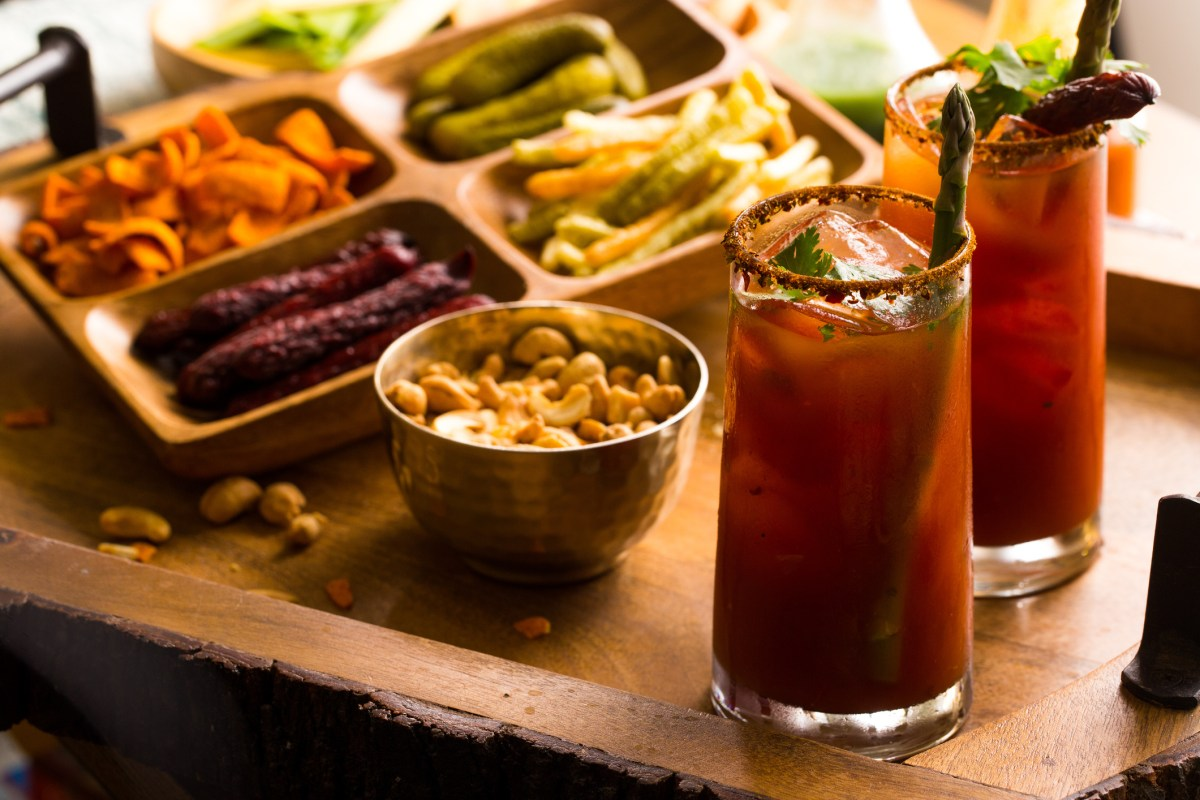 DIY Bloody Mary Bar + Spicy Bloody Mary Recipe (VIDEO)