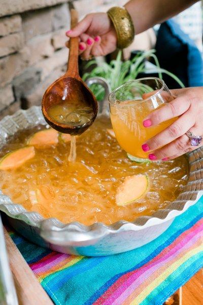 Cantaloupe Cucumber Cazuela Margarita