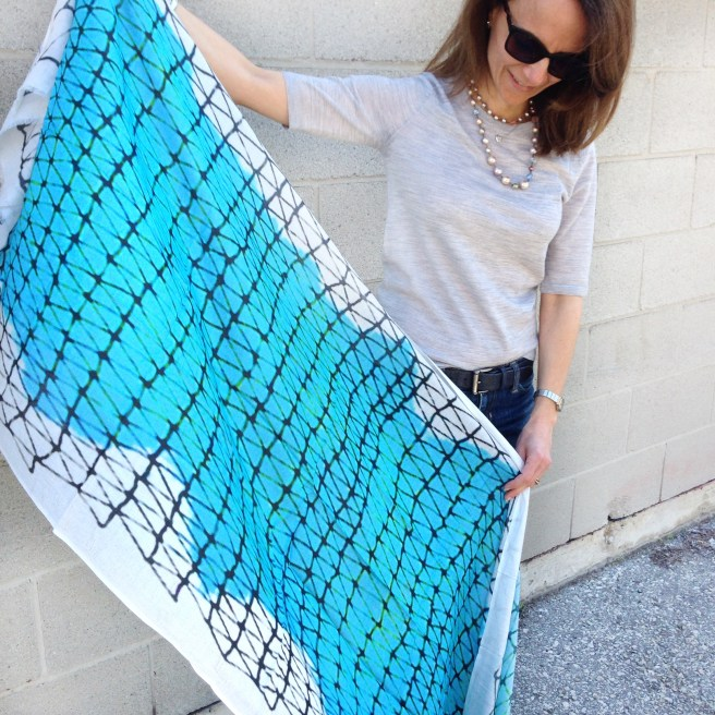 Kala Scarf in Silk/Modal