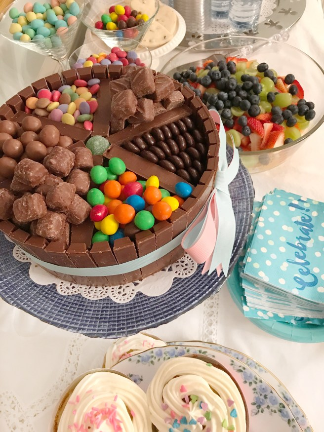 Chocolate Candy Box Cake