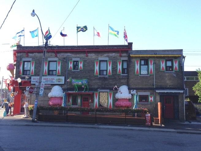 Dutch Dreams ice cream parlour in St Clair West, Toronto