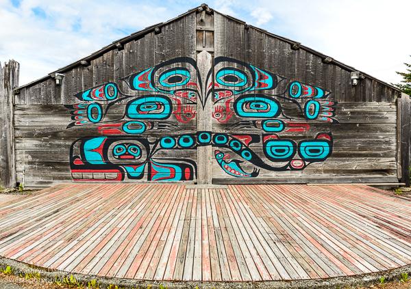 Artist work of an original tribal home