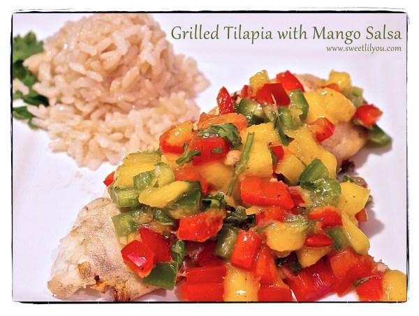 grilled tilapia mango salsa