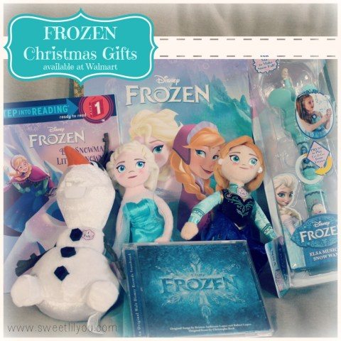 FROZEN Christmas gifts available at walmart  #Disney #FrozenFun #shop #cbias