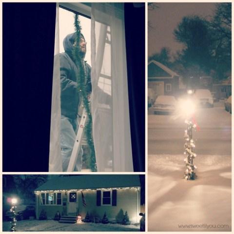 Outdoor decorations lights lightkeeper pro