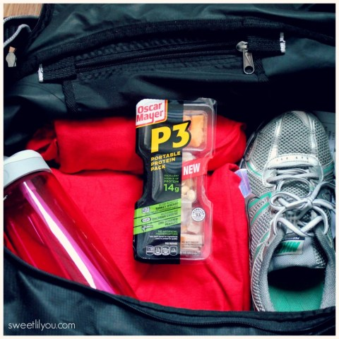 Oscar Mayer P3 Portable Protein Packs are great for before or after a work out! #PortableProtein, #MeatCheeseNuts, #shop #cbias