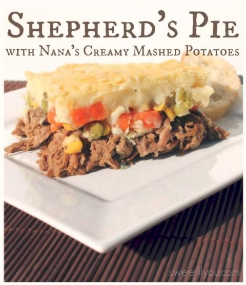 Shepherd's Pie with Nana's creamy mashed potatoes #food #foodie #Yum #EasyPrepMeals #Shop #CollectiveBias