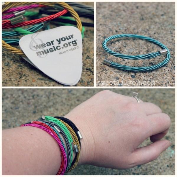 Wear Your Music bracelets stackable trendy on trend