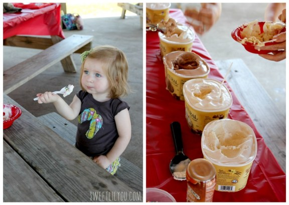 Ice Cream social tasting with turkey hill all natural