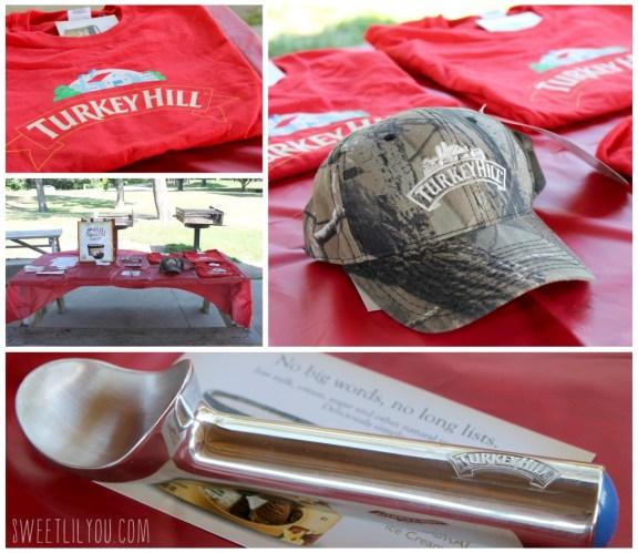 Turkey Hill prizes at the taste test #TRKAmbassador