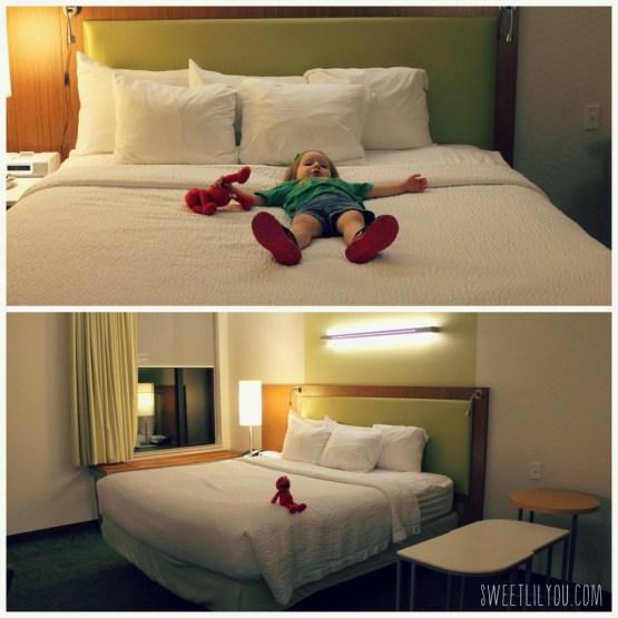Beds at Spring Hill Suites Langhorne Sesame Place