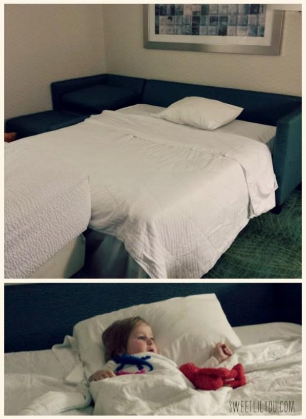 Sleeping at SpringHill Suites Langhorne Sesame Place
