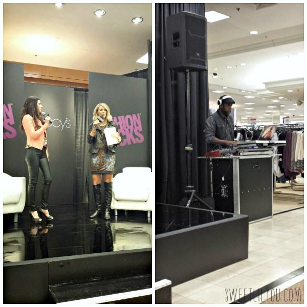 Hosts and DJ #FashionRocks