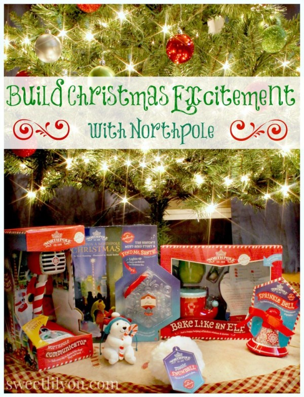 Build Christmas Excitement with Northpole from Hallmark! #Northpolefun #ad