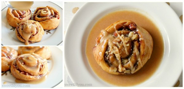 Peanut butter glaze #Holiday AdvantEdge #ad