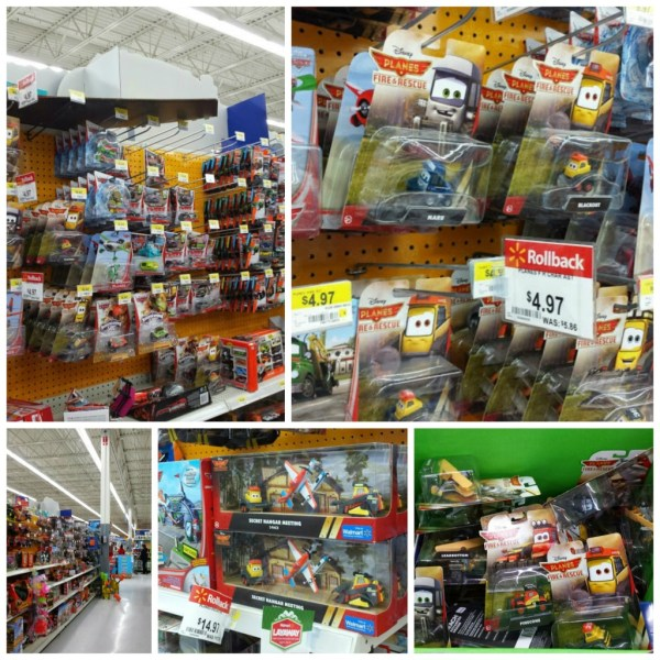 Planes toy son rollback at Walmart #PlanesToTheRescue #ad