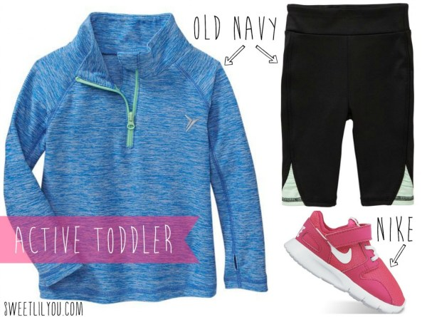 Clothes for an active toddler