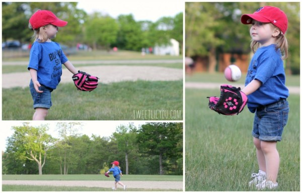 Playing catch, running the bases