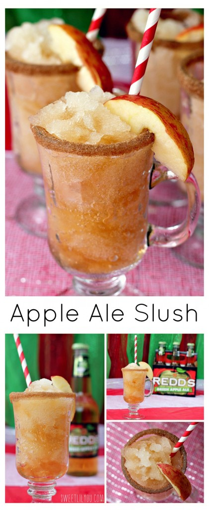 Apple Ale Slush - Hard Cider Slushie