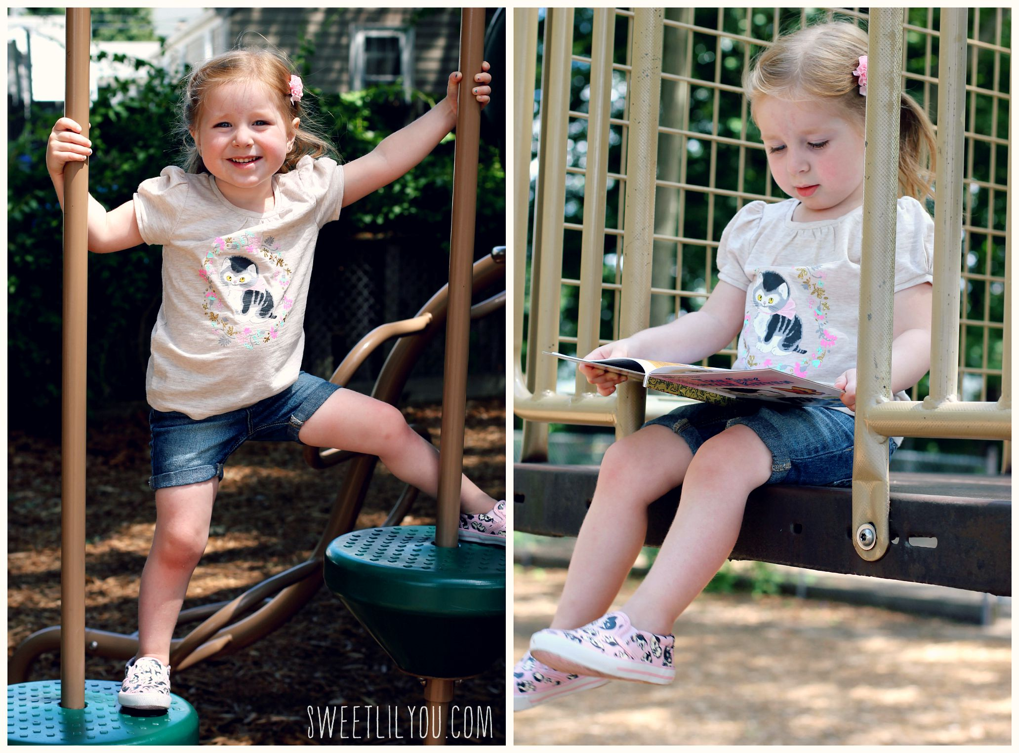 0a96d5da6 These pieces are perfect for Back to School! A pretty dress for the first  day or any special occasion, tees for play-dates and playground fun, ...