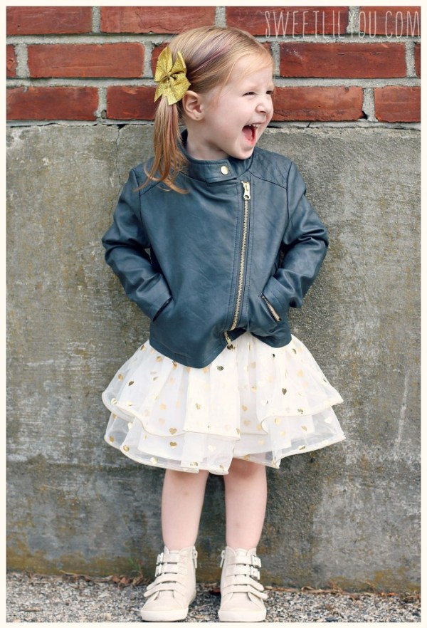 Faux Laether jackets for girls