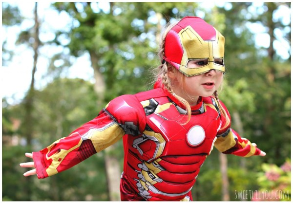 Little Girl Iron Man Costume