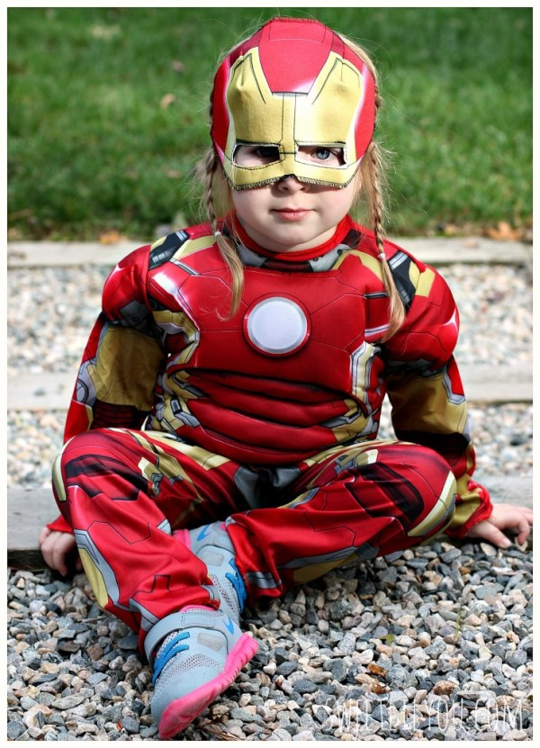 Little Girl Iron Man Halloween Costume