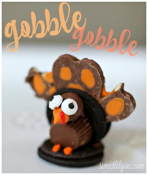 Chocolate Turkey Treats Thanksgiving