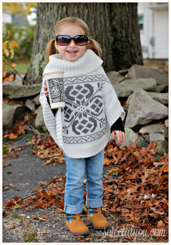 Fall Trends - Ponchos & Capes for Girls