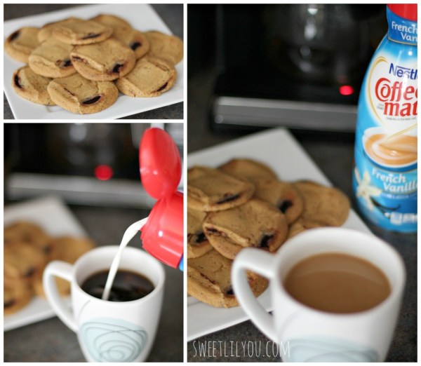 Coffee mate and cookies