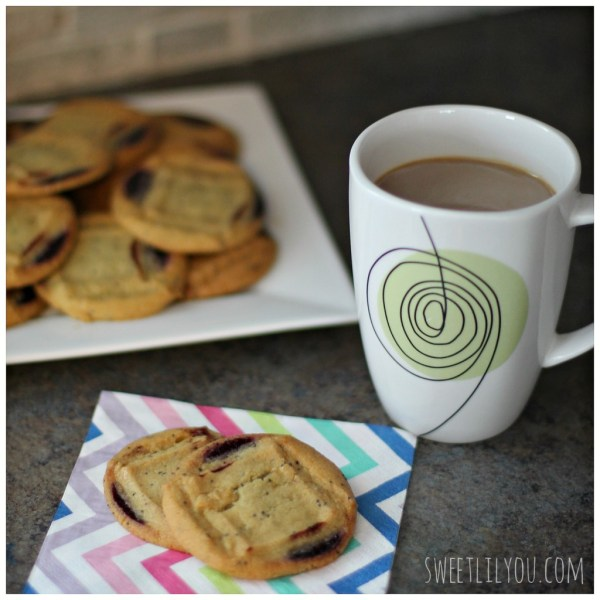 Lemon Blueberry Toll House Cookies