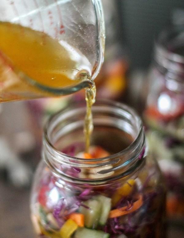 Pickle brine