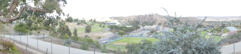 Panoramic view from the Zoo top