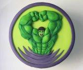 Tarta Hulk