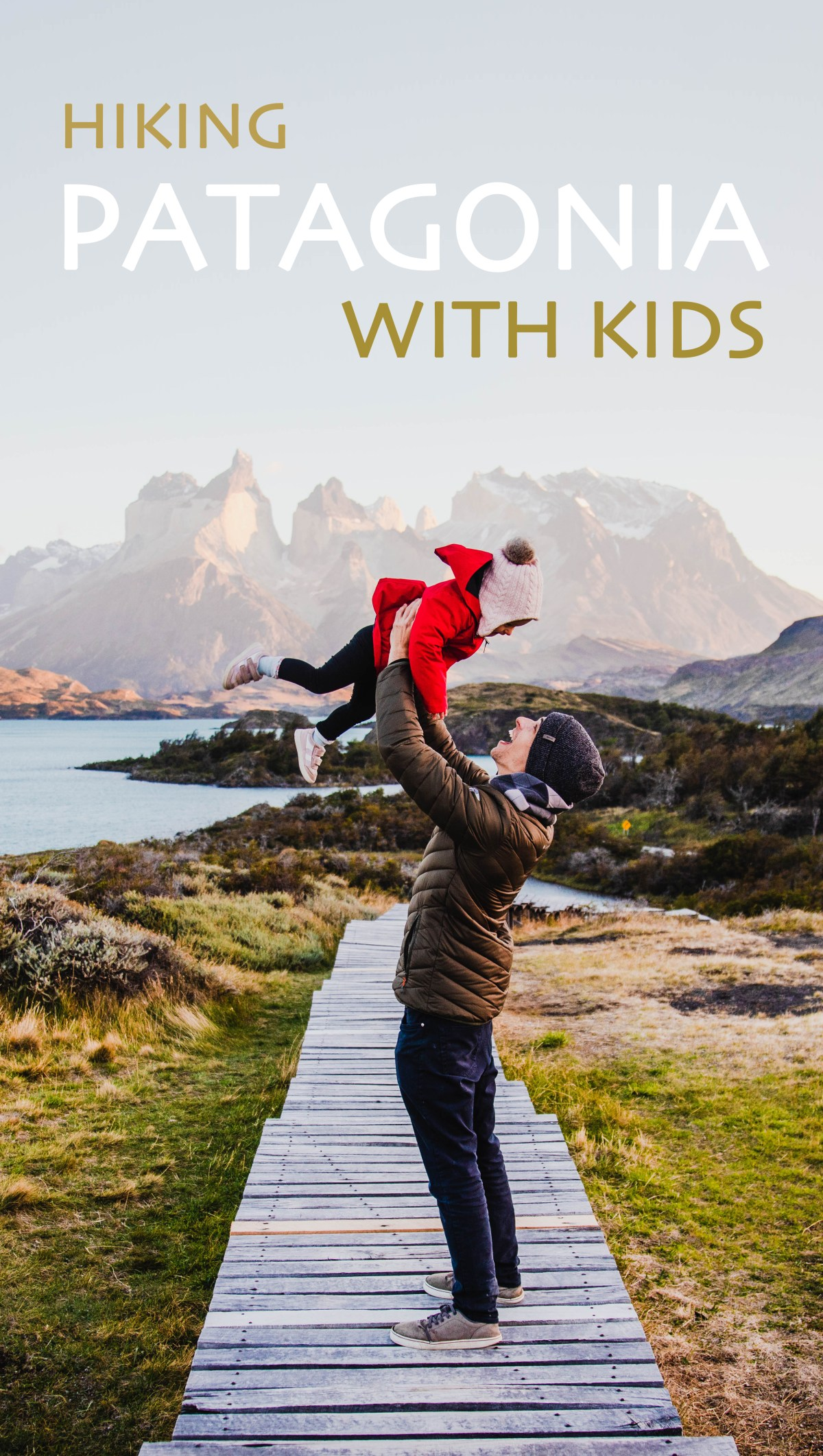 Hiking Patagonia with kids
