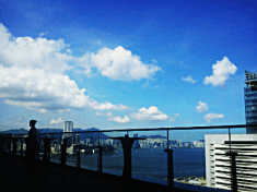 Beautiful view of the Victoria Harbour @ Sevva, 25/F Prince's Building, Central, HK