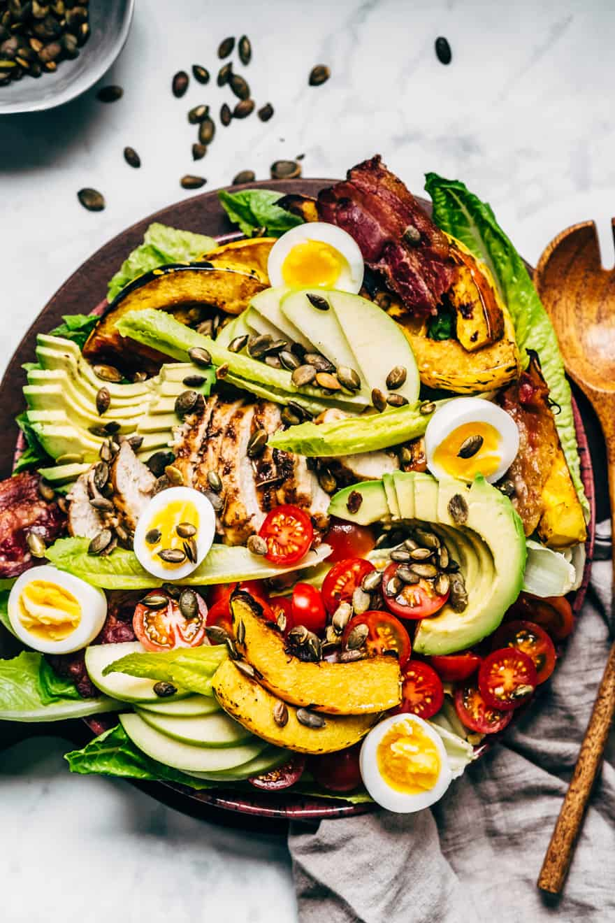 Autumn Cobb Salad