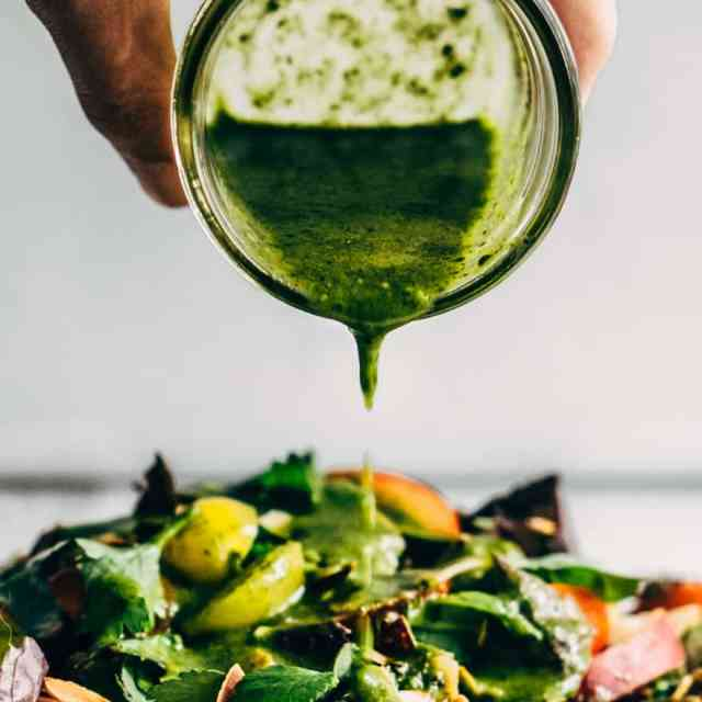 Green Honey Salad Dressing