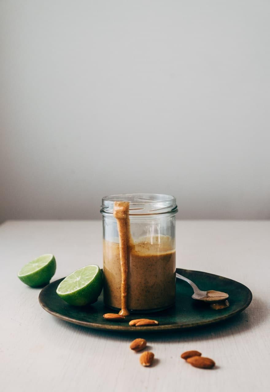Whole 30 Thai Almond Butter Sauce