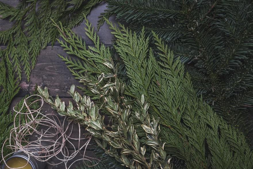 douglas fir and orange body balm. Easy DIY holiday gifts. #DIY #gifts