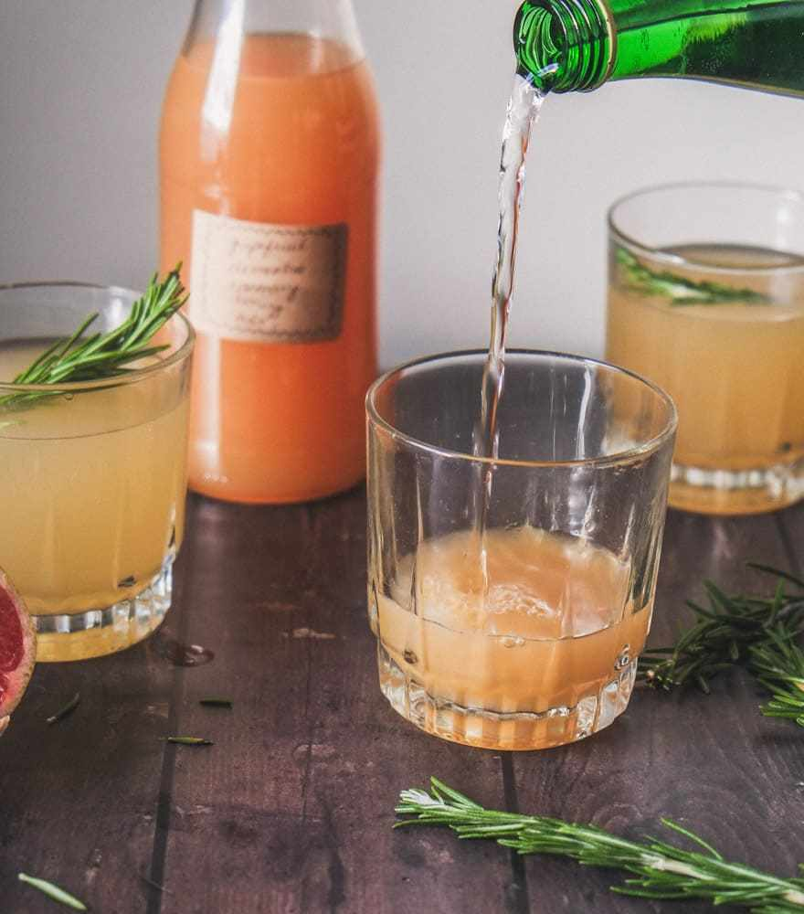 Grapefruit Clementine Shrub #Shrub #cocktails