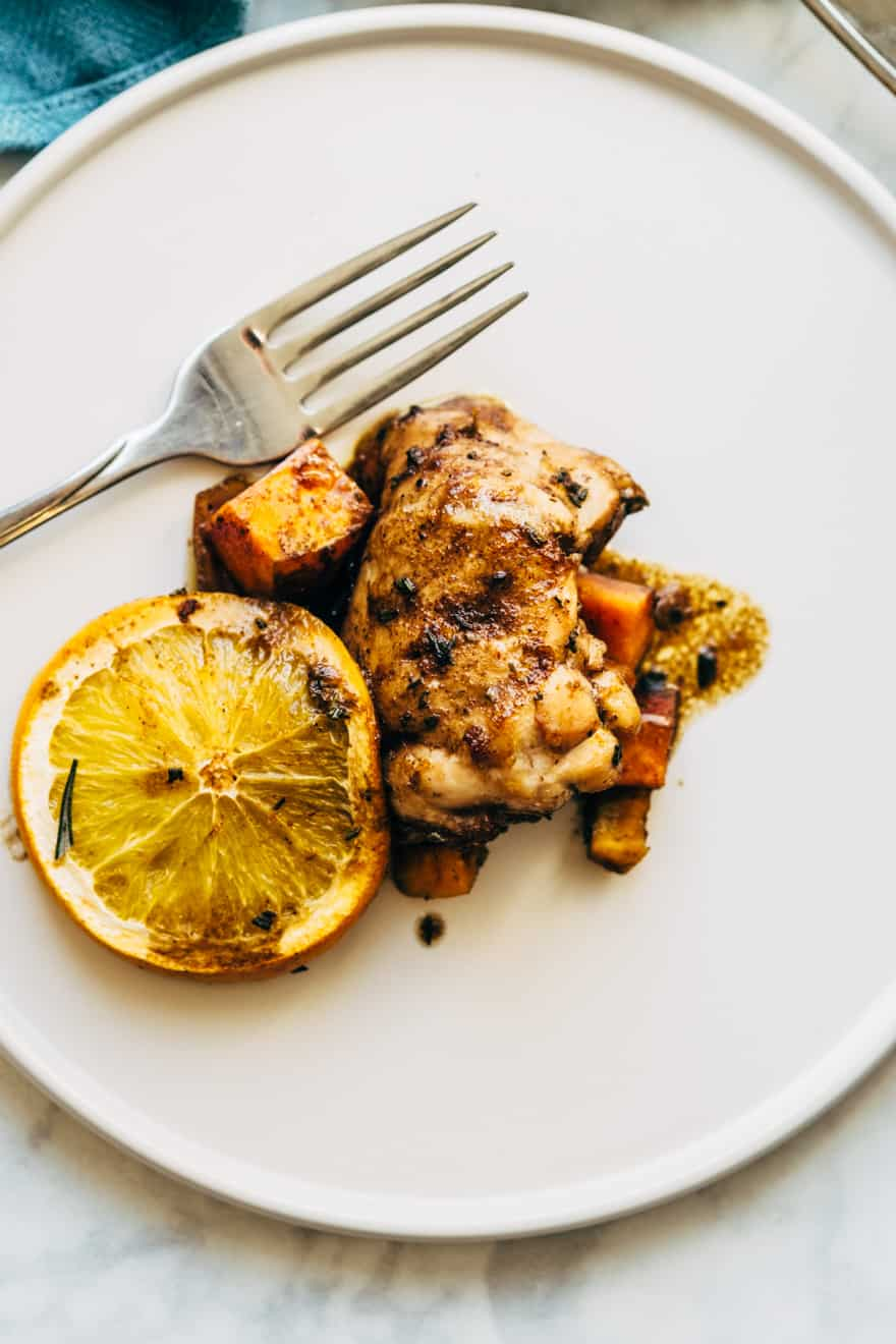whole30 orange glazed chicken