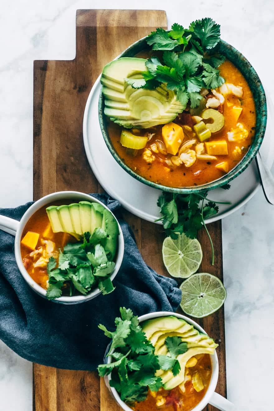 southwest chipotle soup (vegan, paleo)
