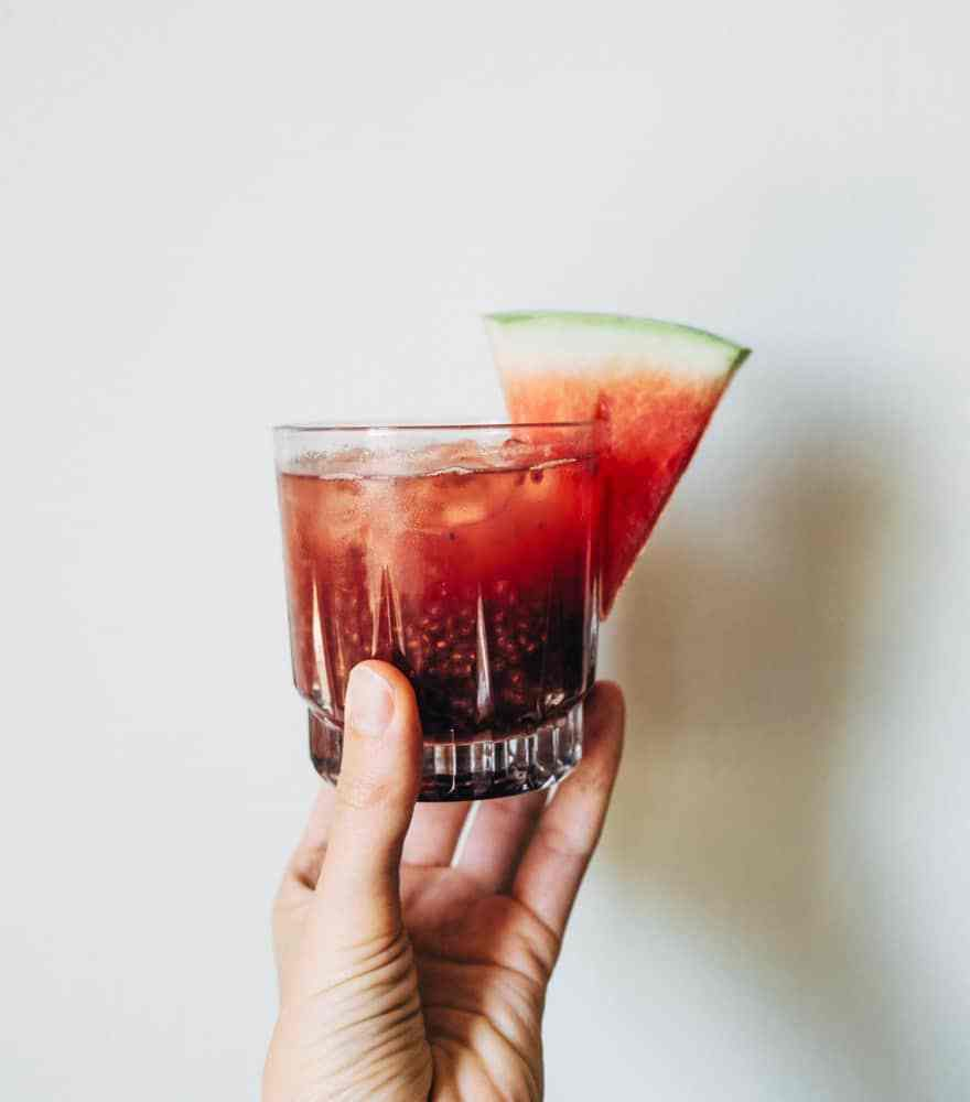 watermelon & holy basil chia fresca #recipe #healthy #paleo